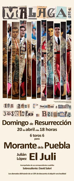 Cartel Málaga Domingo de Resurrección